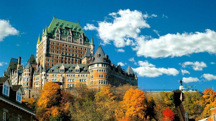 Fairmont Hotels & Resorts, Chateau Frontenac.