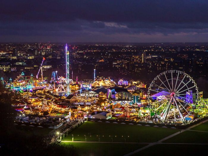 London is one of the best places to spend Christmas thanks to beautiful spaces like Hyde Park
