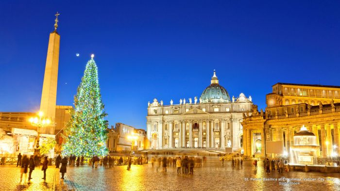 Spend Christmas at the Midnight Mass in Vatican City